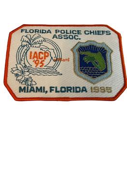 FLORIDA POLICE CHIEFS ASSOCIATION IACP '95 PATCH