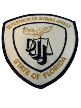 DEPT. OF JUVENILE JUSTICE FL DJJ PATCH