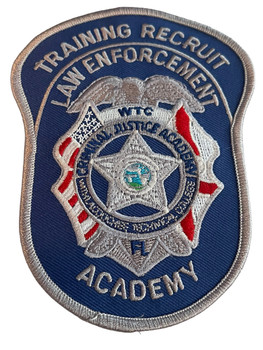 TRAINING RECRUIT LAW ENFORCEMENT ACADEMY FL PATCH
