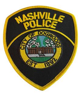 NASHVILLE  POLICE GA PATCH