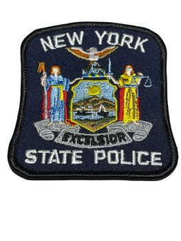 NEW YORK STATE POLICE NY PATCH 2