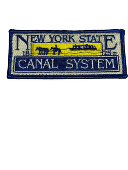 NEW YORK STATE CANAL SYSTEM  NY SMALL PATCH RARE