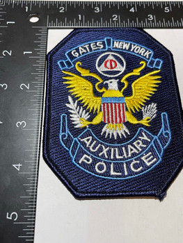 GATES POLICE NY POLICE AUXILIARY PATCH