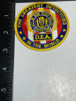 NYPD DEA GREATEST DETECTIVES IN THE WORLD PATCH