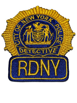 NYPD  RDNY RETIRED DETECTIVES PATCH RARE