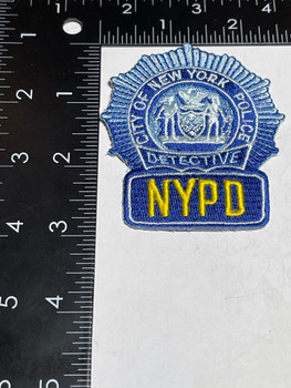 NYPD BLUE BADGE PATCH RARE
