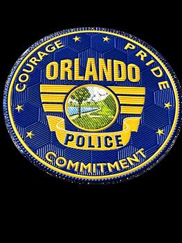 ORLANDO POLICE FLEX PATCH
