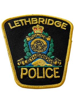 LETHBRIDGE  POLICE PATCH