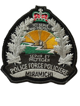 MIRAMICHI POLICE FORCE PATCH