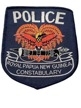 ROYAL PAPUA NEW GUINEA POLICE  PATCH
