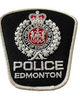 EDMONTON POLICE  PATCH