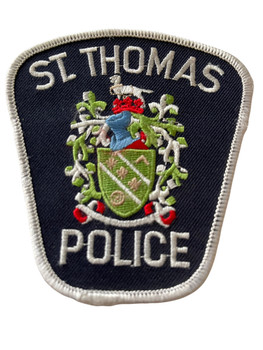 ST.THOMAS POLICE PATCH