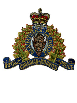 ROYAL CANADIAN MOUNTED POLICE PATCH