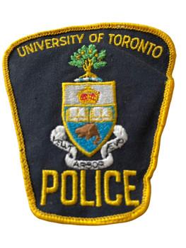 UNIVERSITY OF TORONTO POLICE PATCH