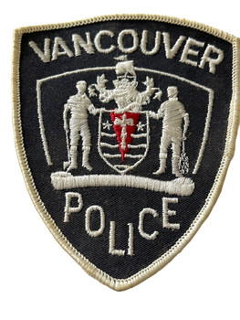 VANCOUVER   POLICE PATCH