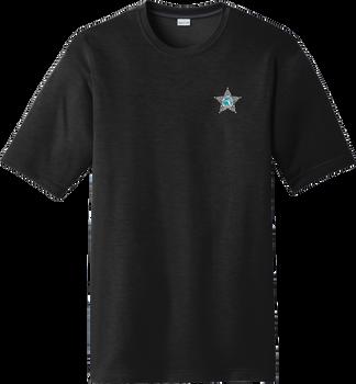 Nassau Moisture-Wicking Performance T-Shirt with Emblem