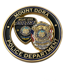 MT DORA POLICE FL COIN
