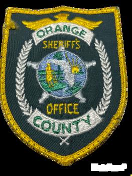 ORANGE COUNTY SHERIFF FL PATCH OLD SCHOOL