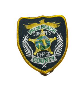 PALM BEACH COUNTY SHERIFF FL PATCH 2