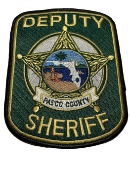 PASCO COUNTY DEPUTY SHERIFF FL PATCH