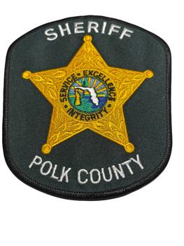 POLK COUNTY SHERIFF FL PATCH OLD SCHOOL