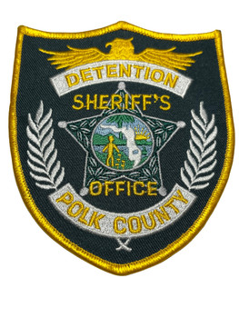 POLK COUNTY SHERIFF FL DETENTION PATCH