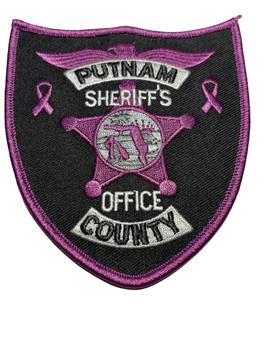 PUTNAM COUNTY SHERIFF FL PURPLE PATCH