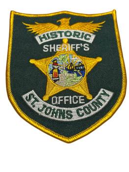ST. JOHNS COUNTY SHERIFF FL PATCH