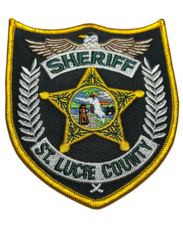 ST. LUCIE COUNTY SHERIFF FL PATCH