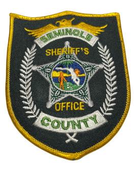 SEMINOLE  COUNTY SHERIFF FL PATCH