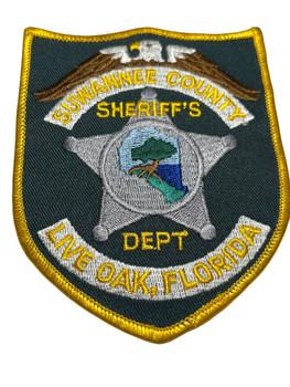 SUWANNEE   COUNTY SHERIFF FL PATCH