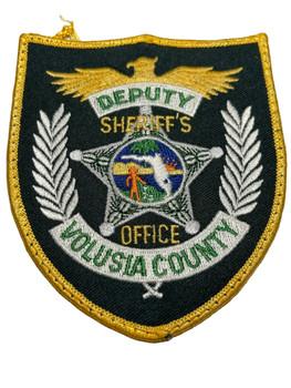 VOLUSIA COUNTY SHERIFF FL DEPUTY PATCH