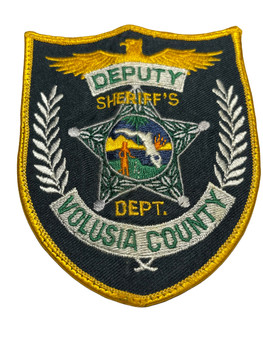 VOLUSIA COUNTY SHERIFF DEPARTMENT FL DEPUTY PATCH
