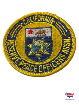 CALIFORNIA RESERVE PEACE OFFICERS ASSOC. PATCH SMALL