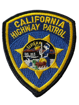 CALIFORNIA HIGHWAY PATROL PATCH SMALL
