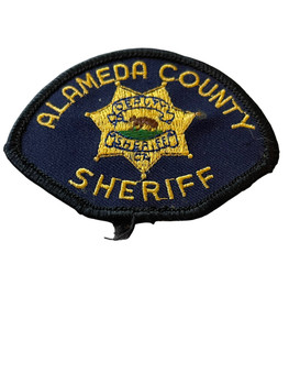 ALAMEDA COUNTY SHERIFF PATCH SMALL