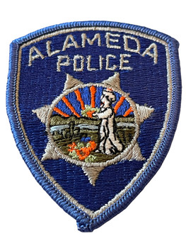 ALAMEDA POLICE PATCH SMALL