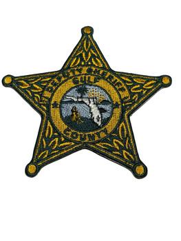 GULF COUNTY SHERIFF STAR FL PATCH