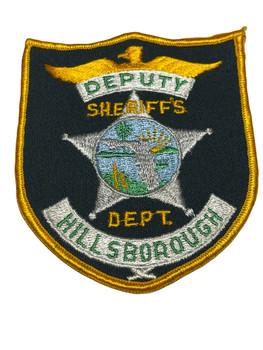 HILLSBOROUGH  COUNTY SHERIFF DEPARTMENT DEPUTY FL PATCH