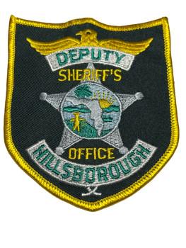 HILLSBOROUGH  COUNTY SHERIFF OFFICE DEPUTY FL PATCH