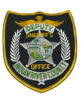 INDIAN RIVER  COUNTY SHERIFF OFFICE FL DEPUTY PATCH
