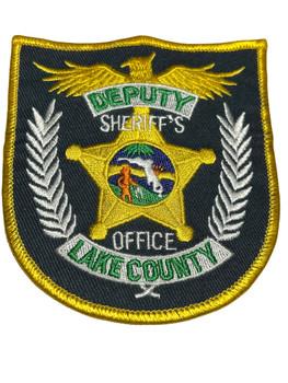 LAKE  COUNTY SHERIFF OFFICE FL DEPUTY PATCH