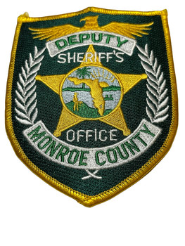 MONROE  COUNTY SHERIFF OFFICE FL DEPUTY PATCH