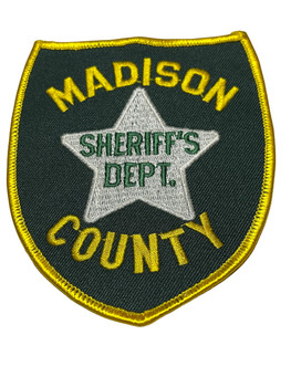 MADISON CTY FL SHERIFF DEPARTMENT PATCH RARE