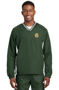 Highlands Sheriff Sport-Tek® Tipped V-Neck Raglan Wind Shirt