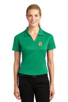 Highlands Sheriff Sport-Tek® Ladies Dri-Mesh® V-Neck Polo