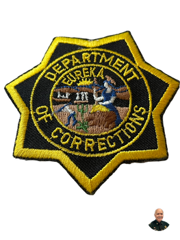CALIFORNIA DEPT. OF CORRECTIONS CA BADGE PATCH