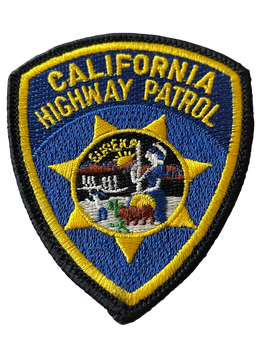 CA HIGHWAY PATROL SMALL PATCH 2