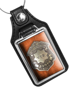 Fort Duchesne UTE Police Utah Faux Key Ring
