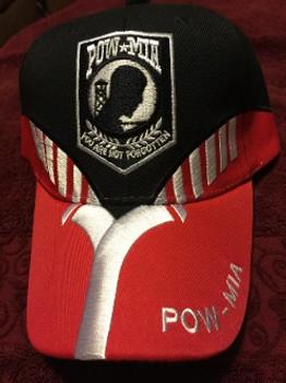 POW MIA Not Forgotten 3 Hat